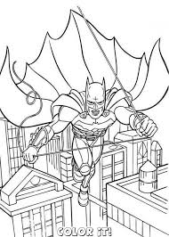 Small Picture Free Coloring Page Batman Coloring Coloring Pages