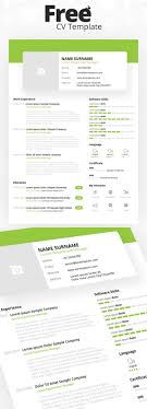 Resume Template With Photo 100 Free Creative Resume Templates with Cover Letter Freebies 65