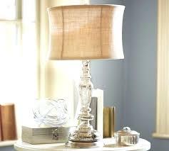 pottery barn table lamp pottery barn crystal table lamps