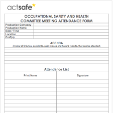 Attendance List Form Meeting Attendance Form Meeting Attendance Form Template Free