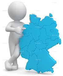 3d Männchen mit Deutschlandkarte - kostenlose weiße 3D Männchen Bilder