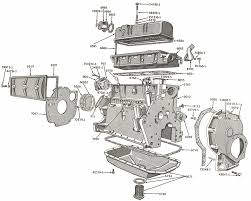 external engine parts for ford jubilee naa tractors 1953 1954 external engine and related parts diagram for ford jubilee and naa tractors 1953 1954