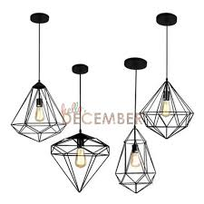 industrial style metal hanging caged led pendant lights vintage rubbed bronze art deco led ceiling pendant lamps modern hanging light hanging lights in