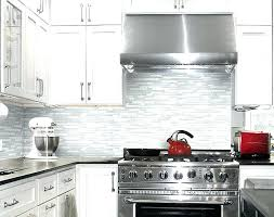 Kitchen With Glass Tile Backsplash Amazing White Glass Backsplash Tile Veelablog