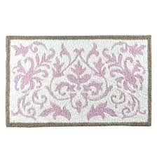 fl bath rug target damask bathroom rugs pink damask bath rug target black and white damask