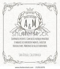 stock vector page decoration template vintage frame 212011678 vintage frame template stock photos, royalty free images & vectors on vertical labels template