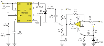simple addition permits voltage control of dc dc converter s  the added circuitry in this version of the dc dc converter permits control of vout by varying a control voltage vc
