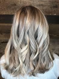 womans haircut color and style salon ash blonde dimensional platinum low light idea well bronde texture