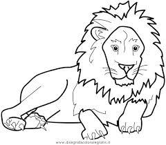 Disegno Leone21 Animali Da Colorare