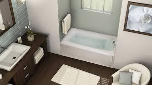 image of smallest average bathtub size