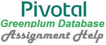 hadoop tool pivotal greenplum database assignment help