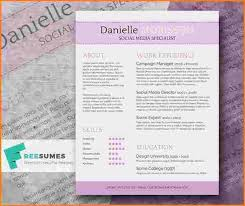 Cute Resume Templates New 48 Cute Resume Templates Cute Resume Templates Werk Pinterest