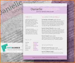 Cute Resume Templates New 48 cute resume templates Cute Resume Templates Werk Pinterest