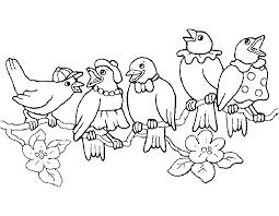 Vogels Kleurplaten Vogeltjes
