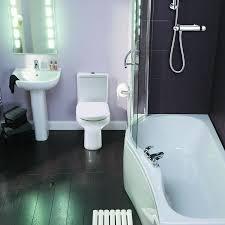 Bathroom:White Red Bathroom Floor Tub Compact Bathroom Design Ideas With  Nice Wooden Flooring