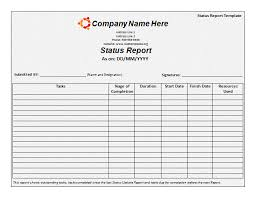 Monthly Report Template Word 100 Monthly Report Templates Printable Word Excel Templates 5