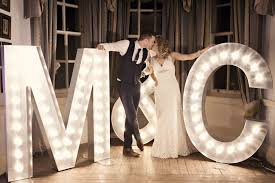 letter lights clic chic simple elegant chagne wedding kent kerryannduffy