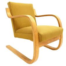 early alvar aalto model 402 chair for artek finland with original upholstery at 1stdibs