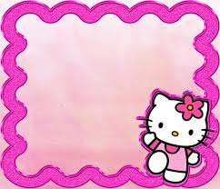 Printable Hello Kitty Invitations Personalized Free Printable Hello Kitty Invitation Templates Theme