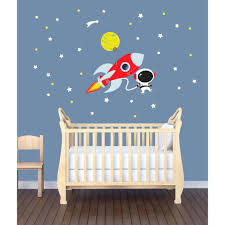 rocket wall decals rocket wall decal for kids rooms outer space decals wall  decals