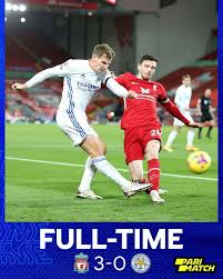 A mightily dominant liverpool performance against a very lacklustre leicester who struggled to create any chances and. Liverpool Thump Leicester City 3 0 Mbare Times