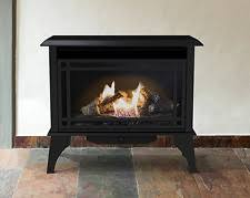 freestanding gas stove fireplace. Gas Stove Propane Vent Free Fireplace Natural Space Heater Black Fireplaces Freestanding