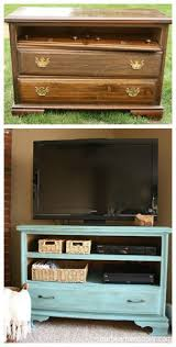 diy furniture refinishing projects. Shabby Chic TV Stand- Along With Many Other Great Ideas For Furniture Restoration Projects! Diy Refinishing Projects E
