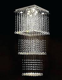chandeliers square crystal chandelier modern lighting raindrop ceiling in remodel 8 drop