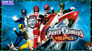 power rangers s p d gba gameplay