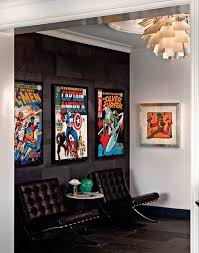 comic book bedroom decor decorating comic book colections and displays desi on marvel letters club