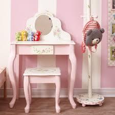 Kids Bedroom Vanity Kids Vanity And Stool Globorank
