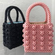 Beaded Bag Designer Thanks To Designer Susan Alexandra The Beaded Bag Trend Is