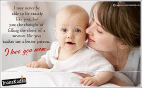 Beautiful Baby Quotes And Sayings Best of Mother Loving Beautiful Quotes Sayings In EnglishMother And Baby Hd