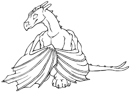 Anime Dragon Coloring Pages At Getdrawingscom Free For Personal