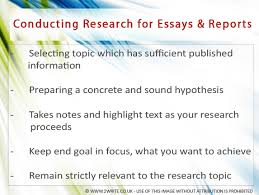 how to conduct research for effective essay report writing  conducting research in essay writing