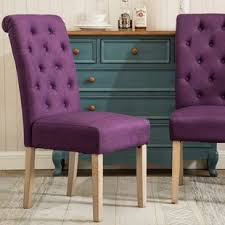 purple kitchen dining chairs