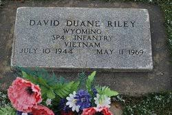 David Duane Riley (1944-1969) - Find A Grave Memorial