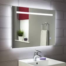 Illuminated Bathroom Mirrors Mains Powered Plumbworld