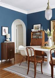 blue dining rooms. white and blue is a match made in color heaven, you can tap into this classic combination by simply using as an accent hue. dining rooms n