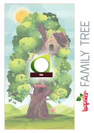 Family Tree Printable Template Happy Family Day Activities Hopster