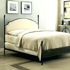 Rustic Metal Bed Frames Bed Frame For Headboard And Queen Metal ...