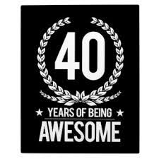 Image result for 40th birthday