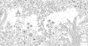 picture of secret garden an inky treasure hunt and colouring book