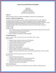 Example Of Resume For Accountant Cover Letter Example Accounting Resume Example Resume Accounting 23