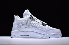 jordan 4 retro. 2017 air jordan 4 retro pure money white metallic silver platinum