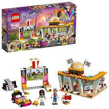 Đồ Chơi Lắp Ráp LEGO Cửa Tiệm Hamburger Tốc Độ 41349