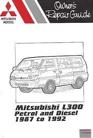 mitsubishi l300 wiring system diagram mitsubishi 1992 mitsubishi l300 petrol diesel russek repair manual on mitsubishi l300 wiring system diagram