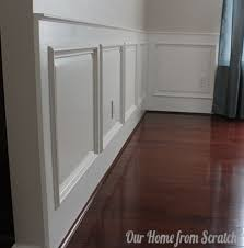 wainscoting dining room diy. 1 Raised Panel Wainscoting Remodelaholic Dining Room Diy I