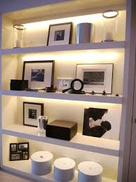 under shelf lighting. consider undershelf lighting led strip will soften the light in room and create mood under shelf t
