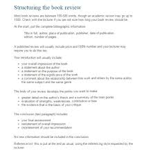 Book Analysis Template Format Review Ohye Mcpgroup Co